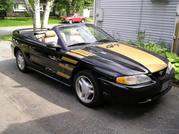 fiero5 1995 Ford MustangGT Convertible 2D Specs Photos