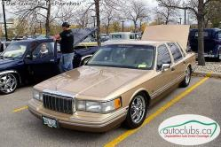1991LINCOLNTWNCRs 1991 Lincoln Town Car
