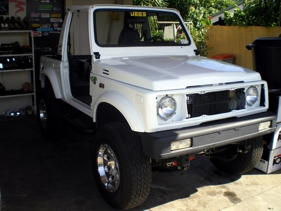 Another TAHITIZOOK 1992 Suzuki Samurai post... - 10132482
