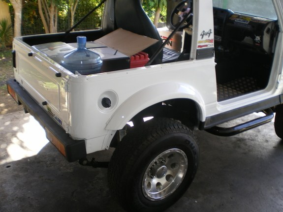 Another TAHITIZOOK 1992 Suzuki Samurai post... - 10132483