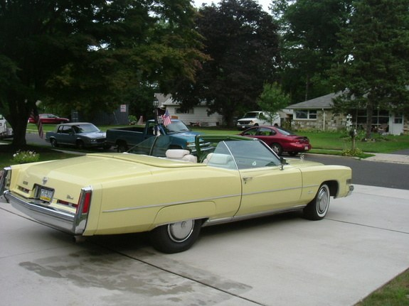 PhillyCaddy 1974 Cadillac Eldorado Specs, Photos