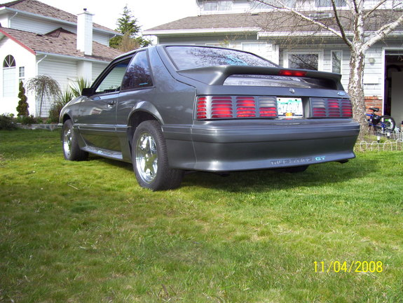 GTP-Babe 1989 Ford Mustang