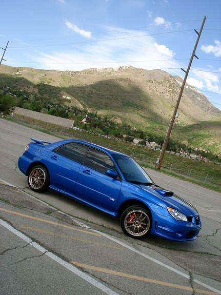This Is My 2006 WRX I Have Turbo Back Exhaust Cobb Accessport V2 SPT