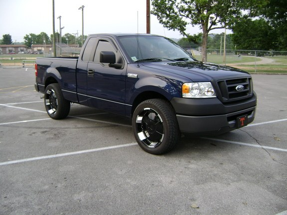kingjmack 2007 ford f150 regular cab specs photos modification info at cardomain. Black Bedroom Furniture Sets. Home Design Ideas