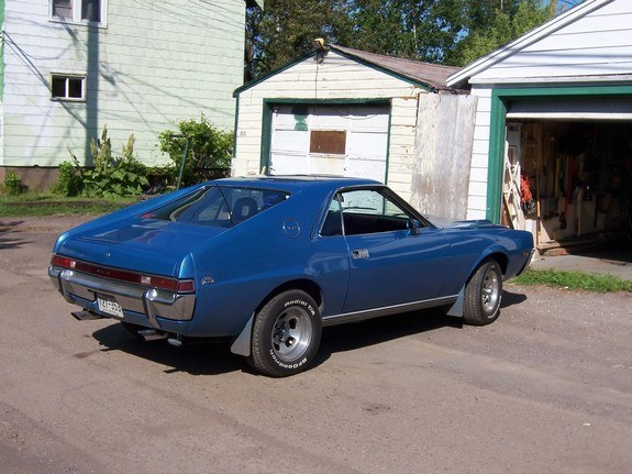 Another pipefactory 1969 AMC AMX post... - 10160348