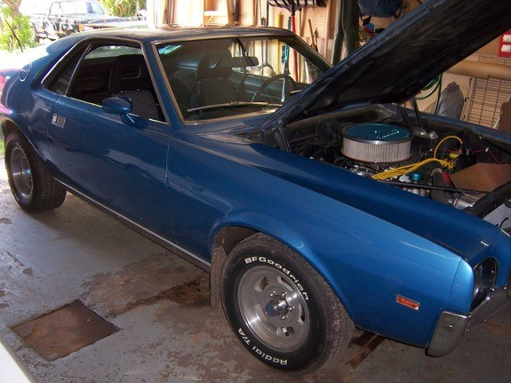 Another pipefactory 1969 AMC AMX post... - 10160349