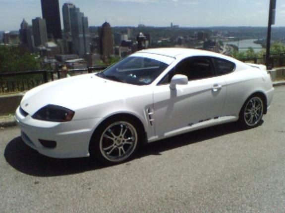 elberto 2006 hyundai tiburon specs photos modification. Black Bedroom Furniture Sets. Home Design Ideas