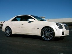 cadillac CTS on 22