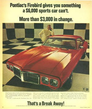 MuscleCar_Girl 1969 Pontiac Firebird 10187268