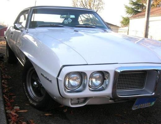 MuscleCar_Girl's 1969 Pontiac Firebird