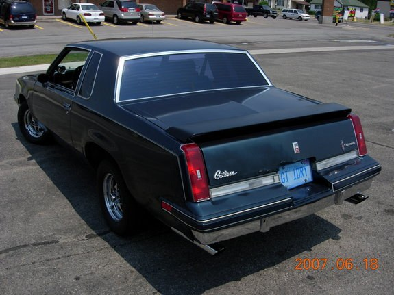 satanic-mechanic 1986 Oldsmobile Cutlass Supreme Specs
