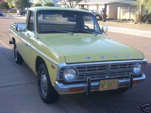 Stook36 1976 Ford Courier Specs, Photos, Modification Info