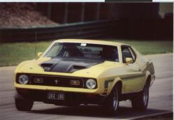 vamach1 1972 Ford Mustang