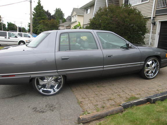 Another Cadillac-Hustler 1994 Cadillac DeVille post... - 10201171