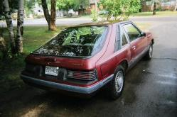 86caprihatch 1986 Mercury Capri