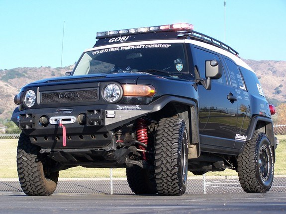 Finishlinewest 2007 Toyota FJ Cruiser