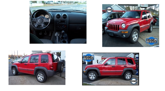 redmilitaryjeep 2003 Jeep Liberty 9197802