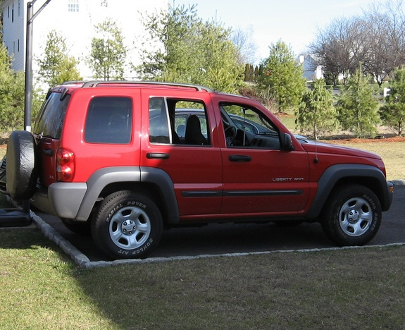 redmilitaryjeep 2003 Jeep Liberty 9197803