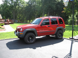 redmilitaryjeeps 2003 Jeep Liberty