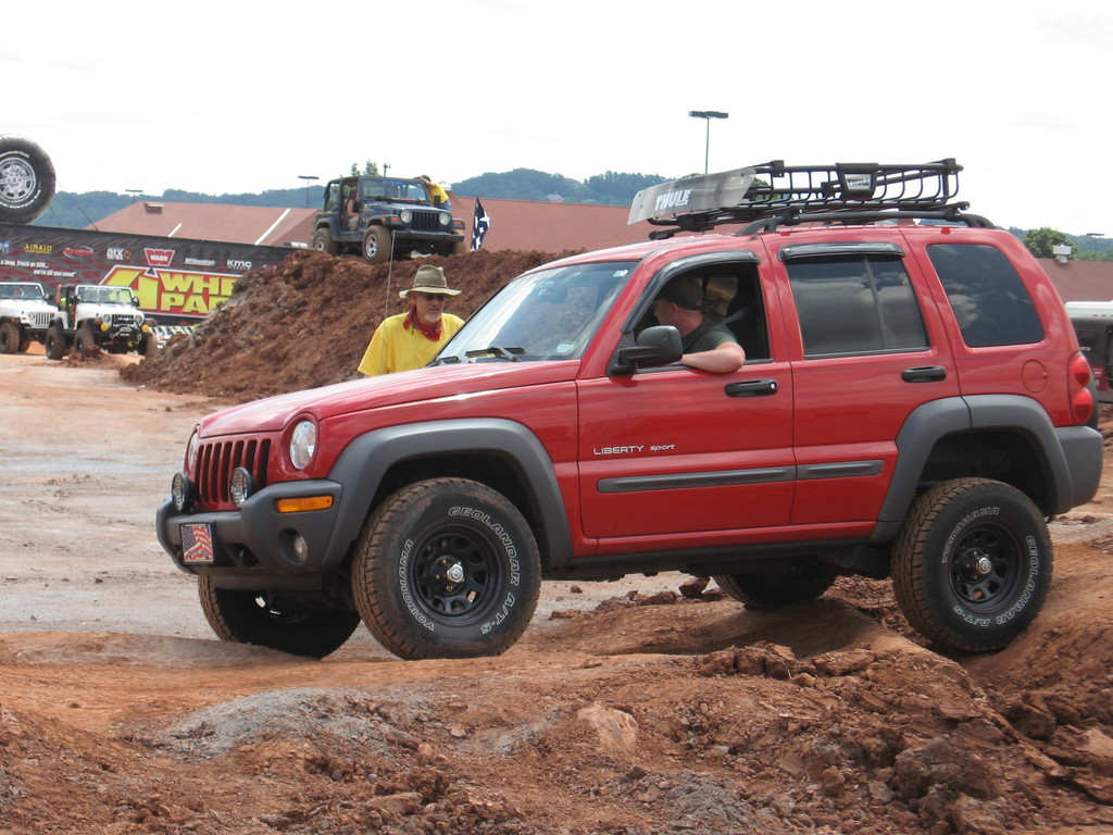 redmilitaryjeep 2003 Jeep Liberty 9197905