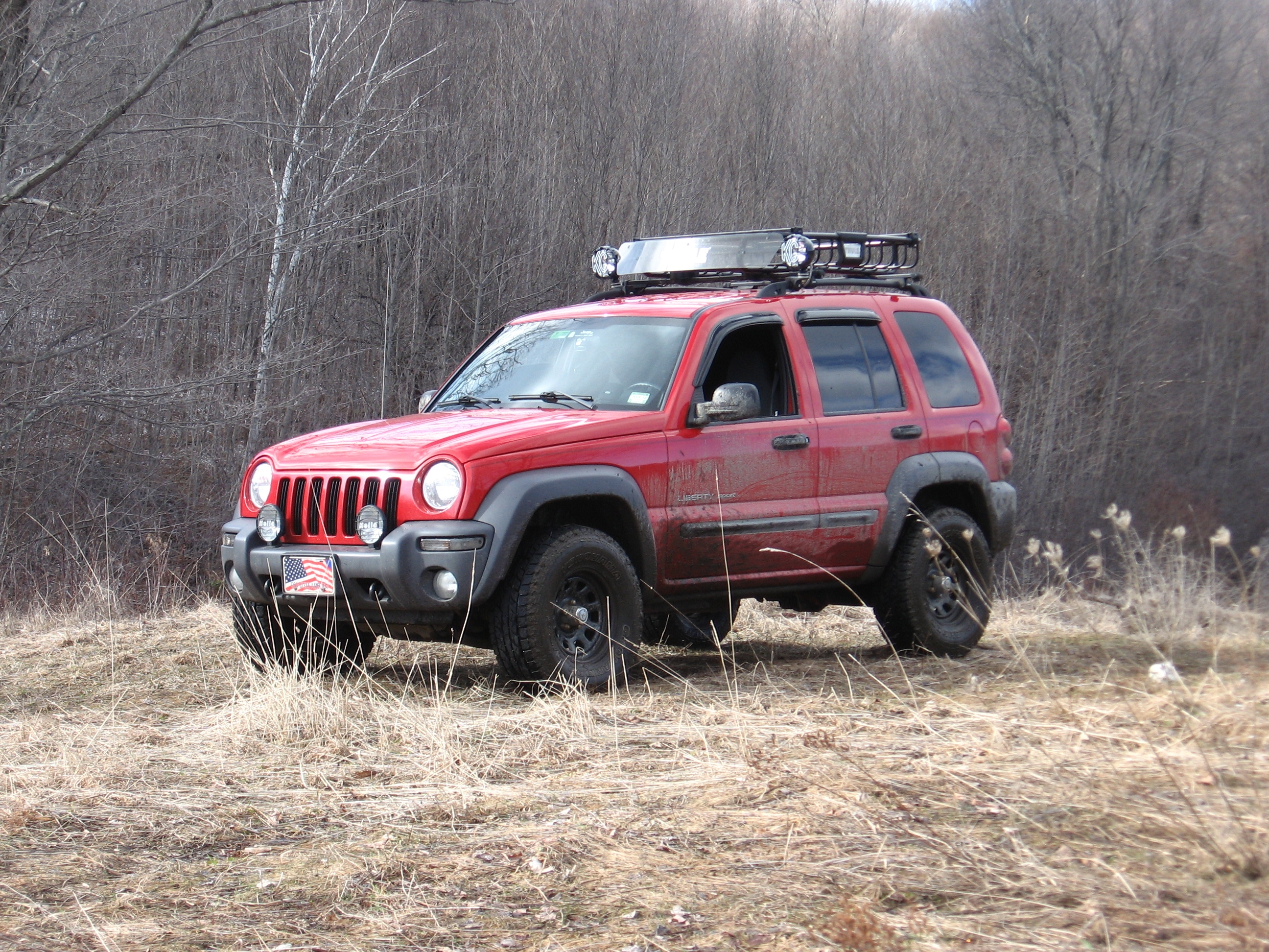 redmilitaryjeep 2003 Jeep Liberty 9197970