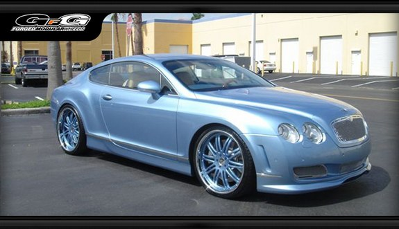RollingOnDubz 2008 Bentley Continental GT