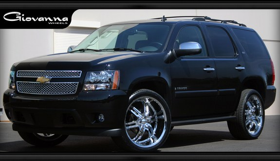 rollingondubz 2008 chevrolet tahoe specs photos. Black Bedroom Furniture Sets. Home Design Ideas