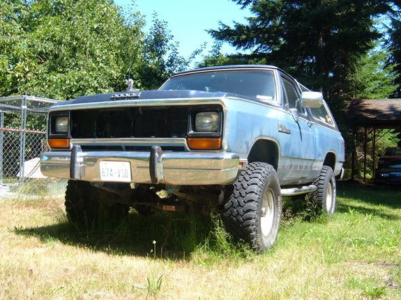 Fiftyfeetup 1989 Dodge Ramcharger Specs Photos