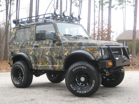 Land Rover Defender Gets Tricked Out By Urban Truck Photo Gallery also Geo Tracker Lsi Sport Utility Wd Convertible K Runs Great Americanlisted also Toyota Rav Hardtop moreover Large further Geo Tracker Lsi For Parts Or Restoration Only Miles. on geo tracker hard top