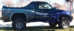 bigpurpletruck 1995 Dodge Ram 1500 Regular Cab