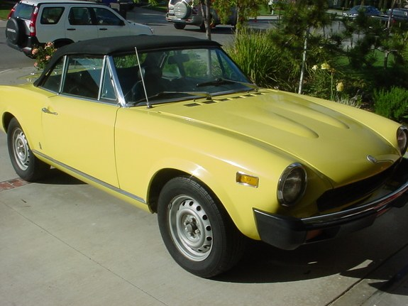 Kingjsamson 1975 Fiat Spider Specs s Modification
