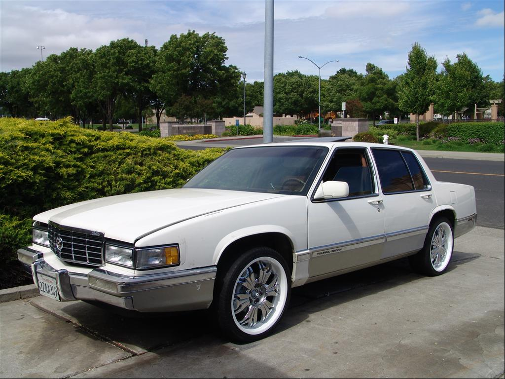 youngg707 39 s 1991 cadillac deville touring sedan 4d in. Cars Review. Best American Auto & Cars Review