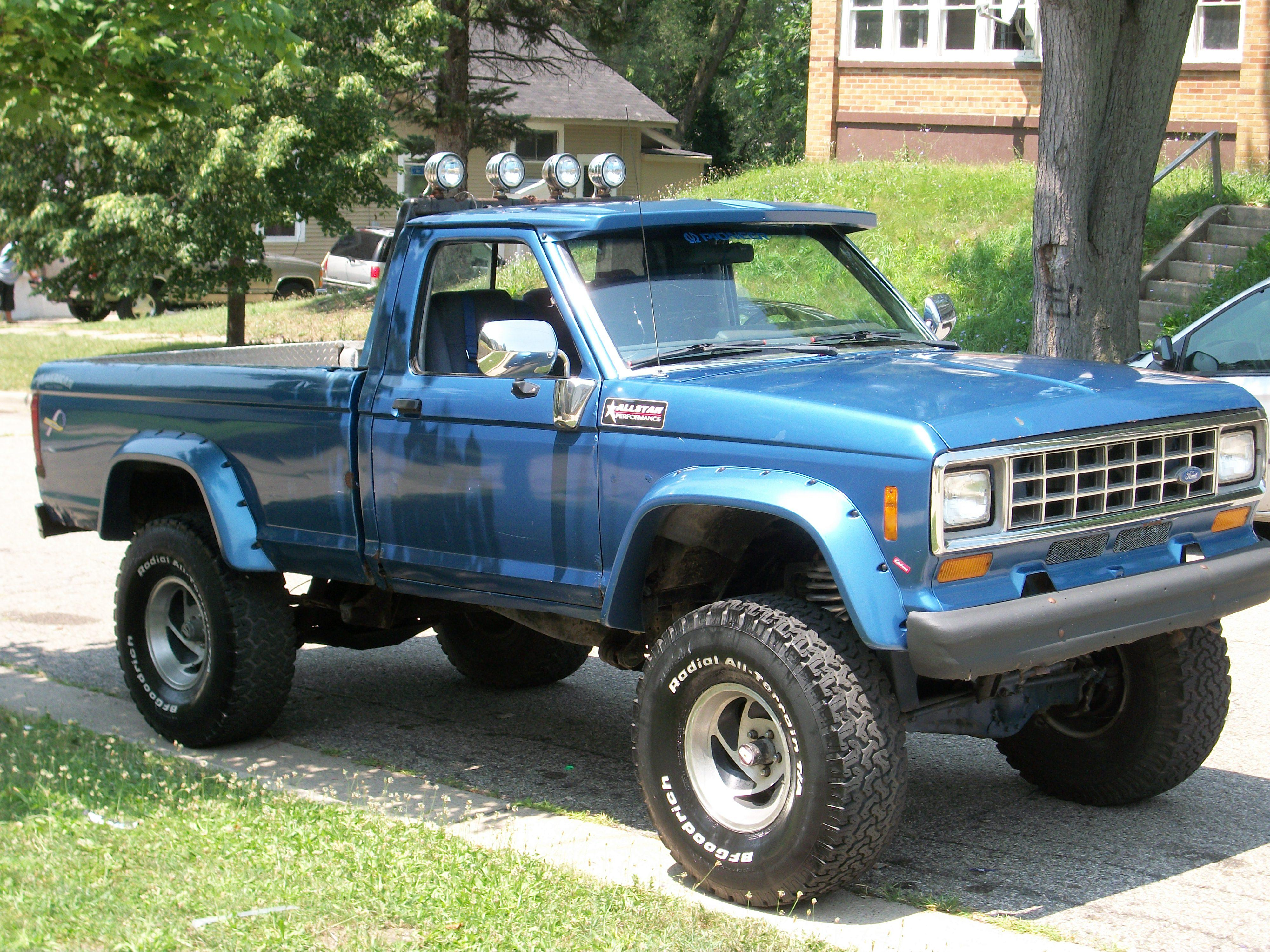 1987 Ford Ranger-Regular-Cab