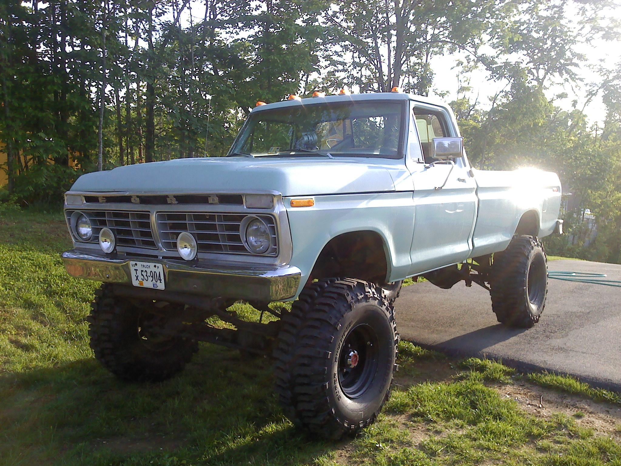 73f250 1973 Ford F250 Crew Cab Specs Photos Modification