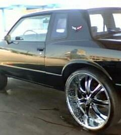 baddazzsss 1985 Chevrolet Monte Carlo