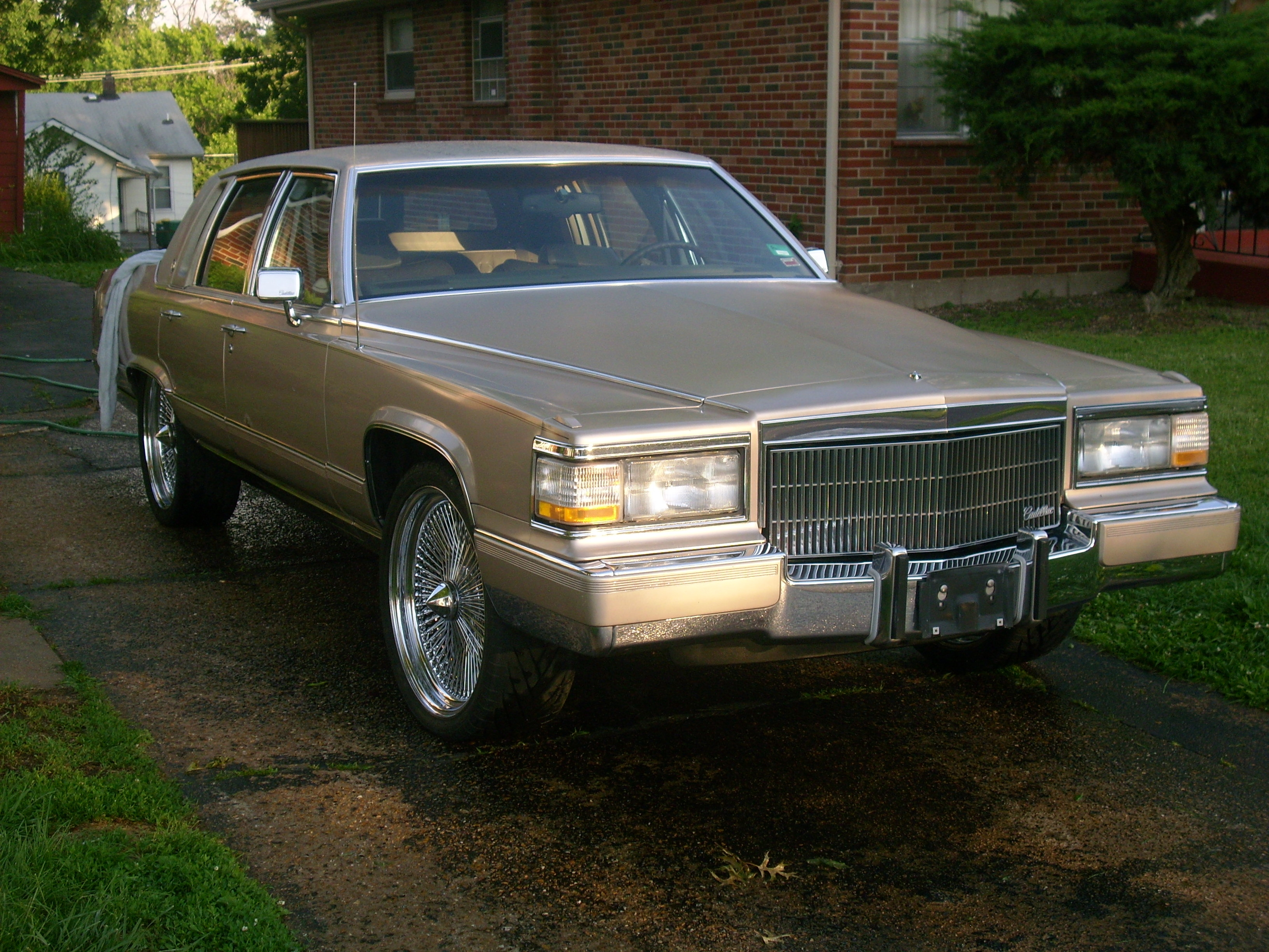 blakezach 1990 cadillac fleetwood specs photos modification info at. Cars Review. Best American Auto & Cars Review
