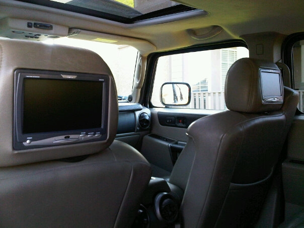 The whole interior KingKushs 2003 Hummer H2