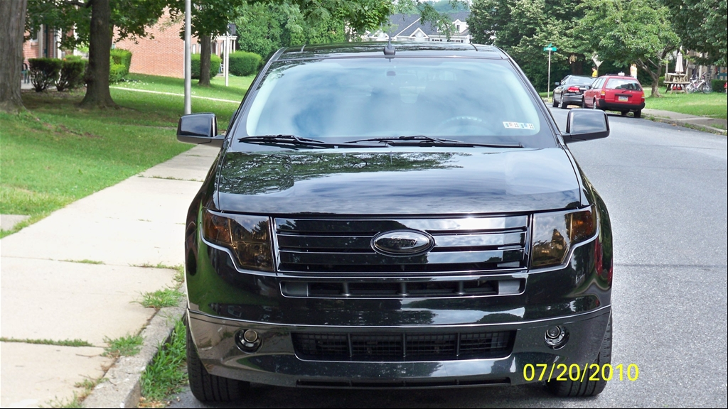 2008 Ford Edge Black Grill Www Proteckmachinery Com