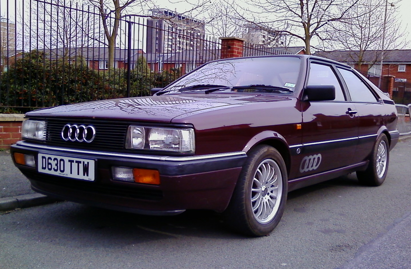 Smiter's 1986 Audi Coupe