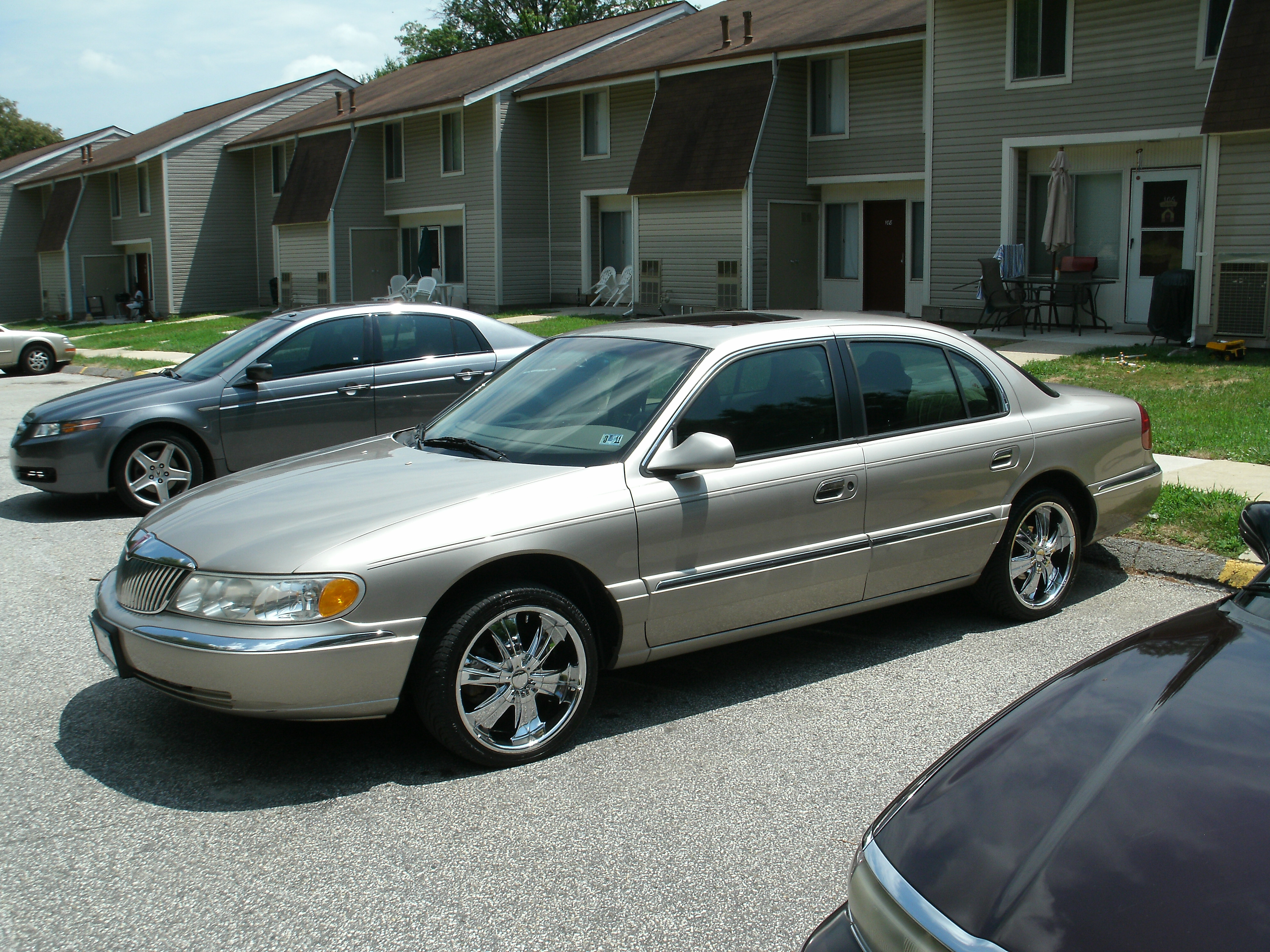 motorkingz1 1999 Lincoln Continental Specs, Photos ...