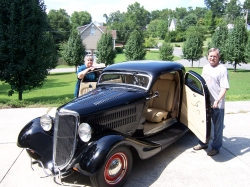 HenryUpholstery 1934 Ford Coupe