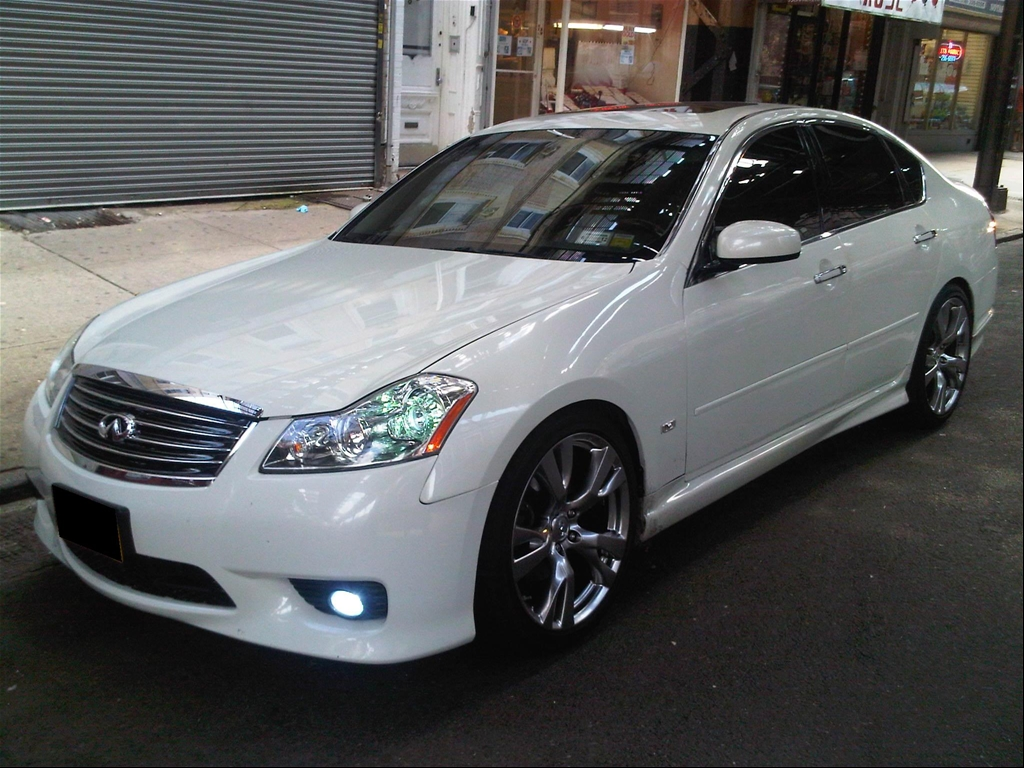 2006 Infiniti M45 >> 2006 Infiniti M35x with M56s 20' rims - Nissan Forum | Nissan Forums