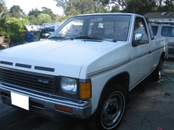 nissanpickup1987s 1987 Nissan D21 Pick-Up
