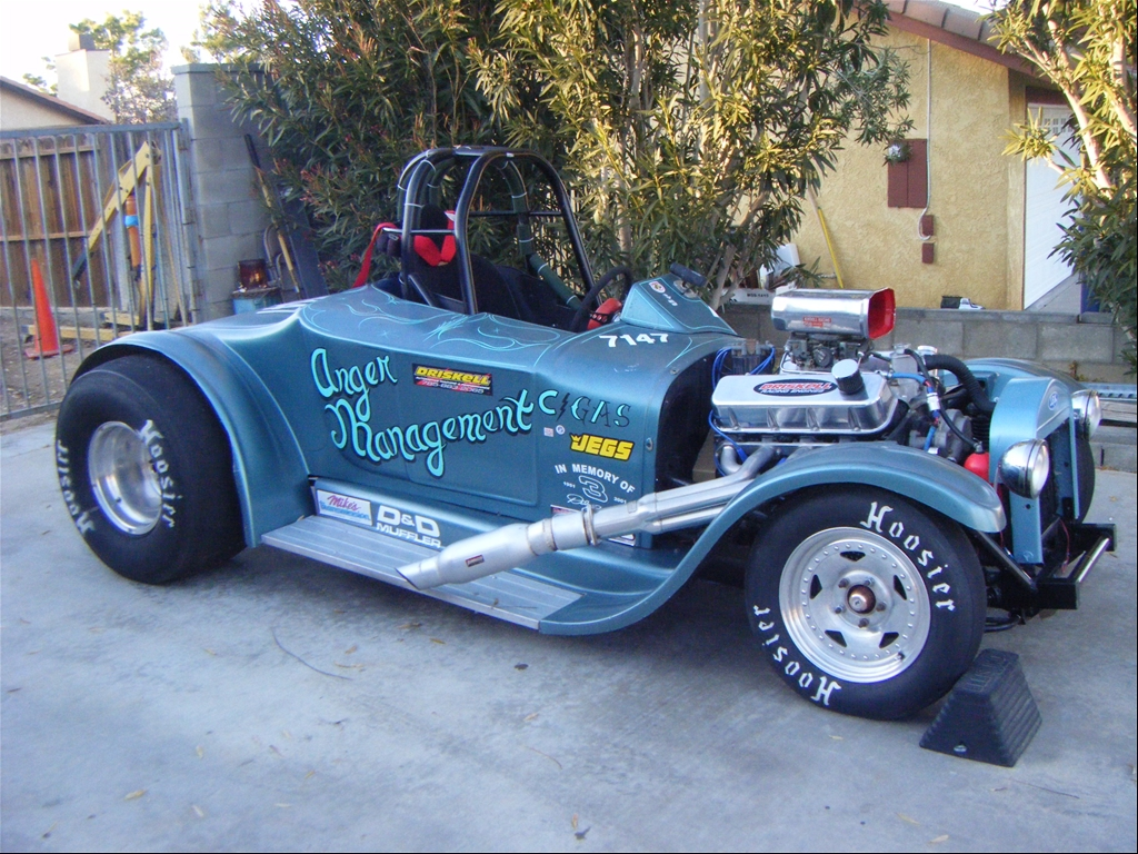 Duane's Ford Roadster