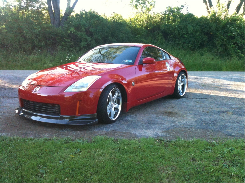 nissan 350z custom wheels and tires wheelfire autos post. Black Bedroom Furniture Sets. Home Design Ideas