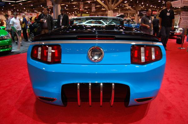 Galpin Auto Sports Mustang GT Convertible in the Ford Booth at SEMA