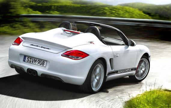 More details at Porsche USA. Less is More: Porsche Boxster Spyder