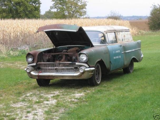 1957 Chevy Sedan Delivery on eBay