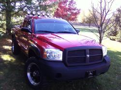 05Dakota4X4 2005 Dodge Dakota Regular Cab & Chassis