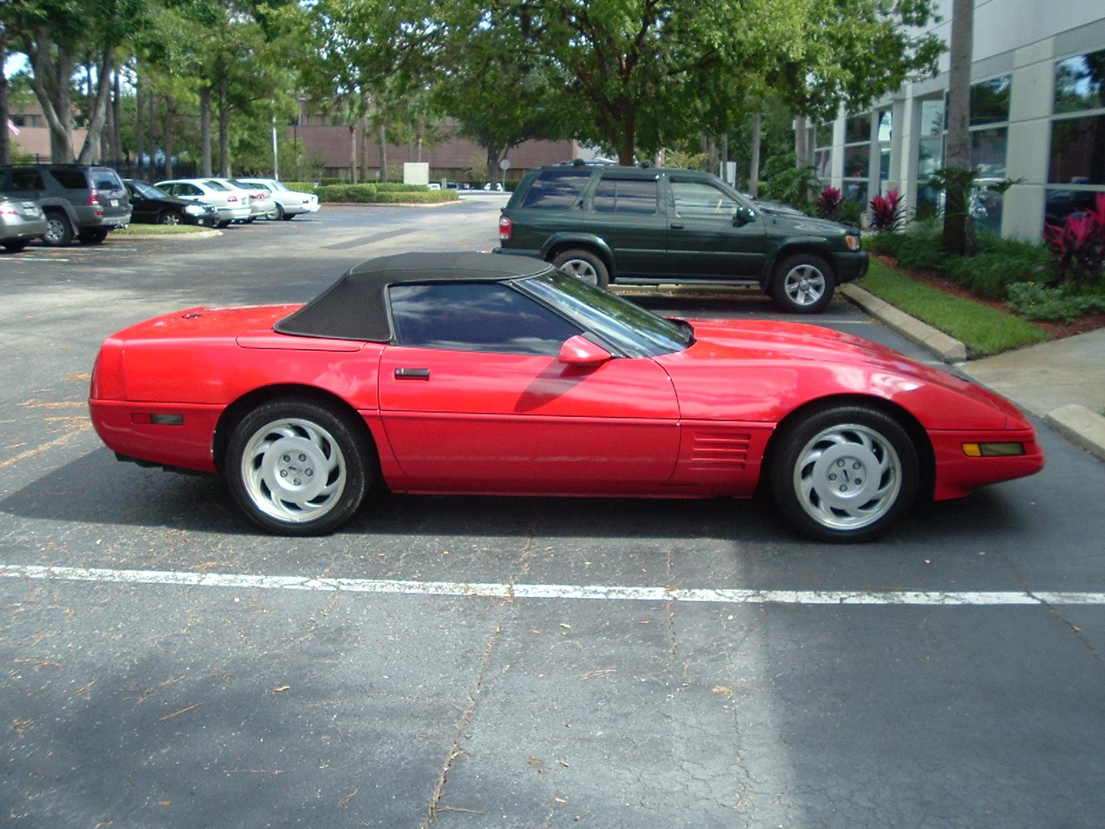 Curious George 1992 Chevrolet Corvette